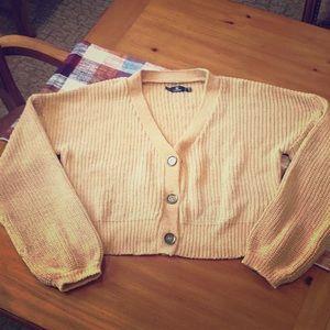 Volcom cardigan sweater size M